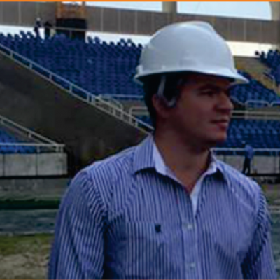 No Estádio Nilton Santos