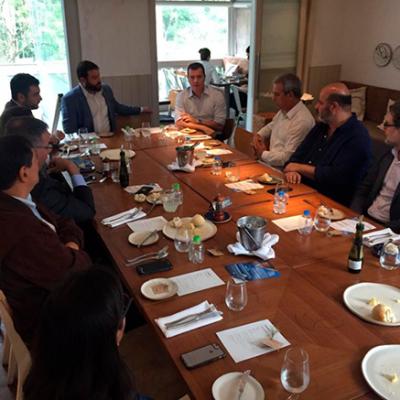 Reunião com empreendedores