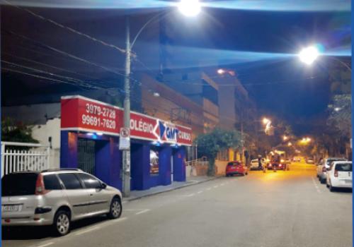 Nova Iluminação LED Rua Pedro de Carvalho